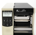 Принтер этикеток, штрих-кодов Zebra 110Xi4 203dpi, смотчик и отделитель, датчик наличия этикетки, двойная дверца (112-8KE-00103)